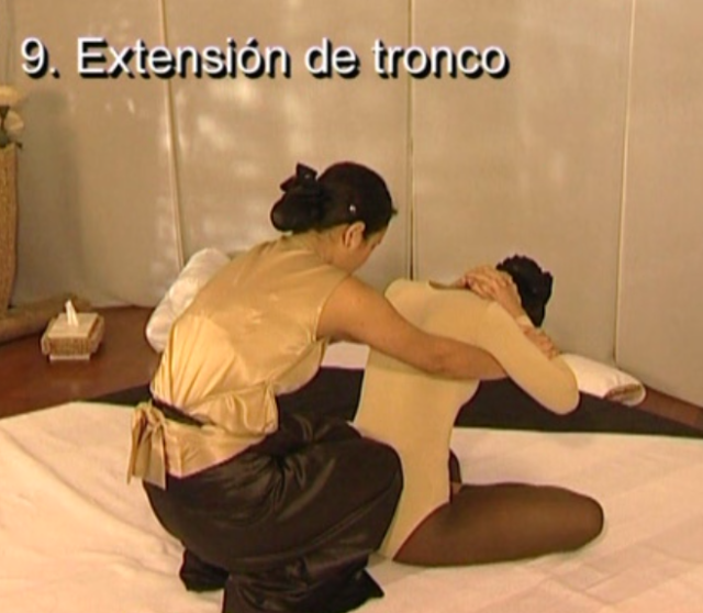 9 extension de tronco