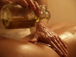 Masaje aceites